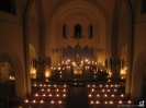 Pfarrkirche in Roratebeleuchtung